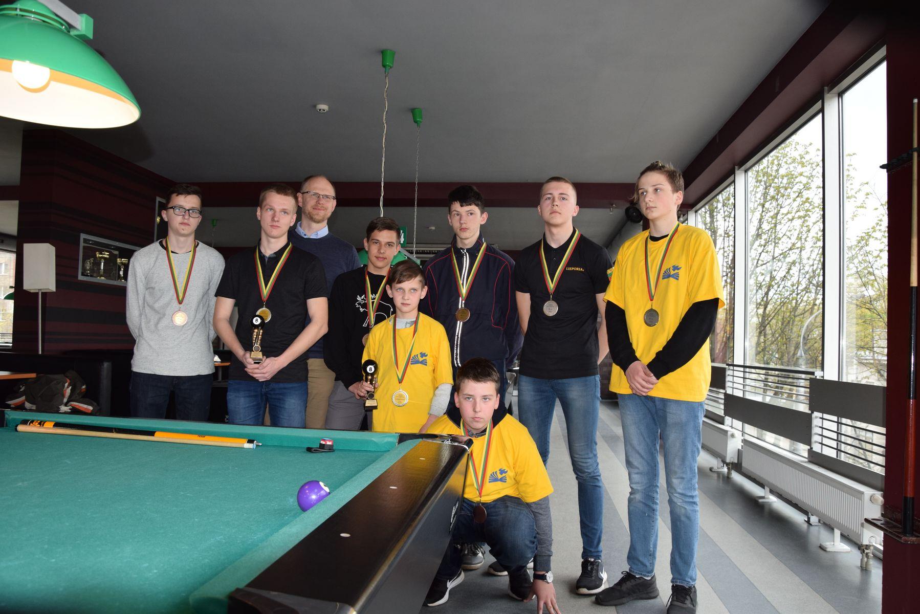 Neringos gimnazijos mokiniai dalyvavo 4-jame Lietuvos mokyklų pulo čempionate Kaune