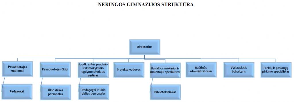 gimnazijos struktūra
