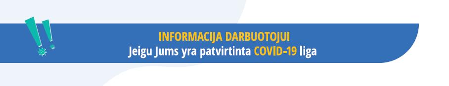 Nacionalinio visuomenės sveikatos centro informacija darbuotojams dėl COVID-19